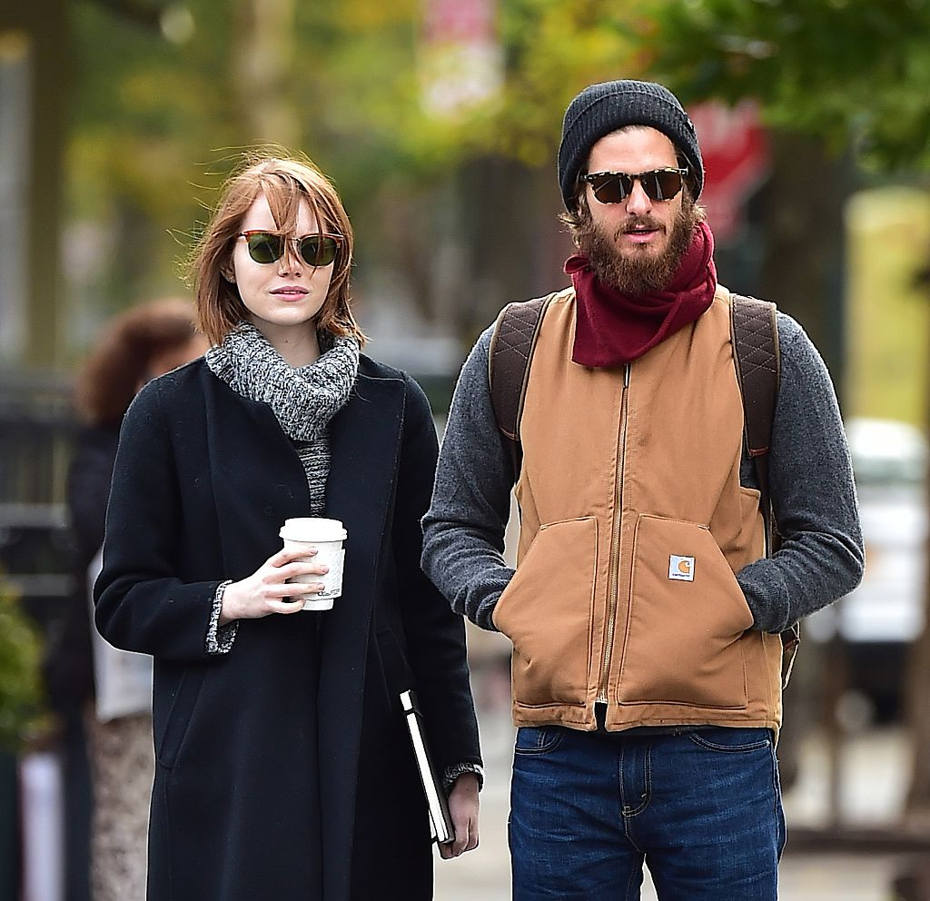 Andrew Garfield says he'd like to be stranded on a desert island with Emma Stone, uh come again?