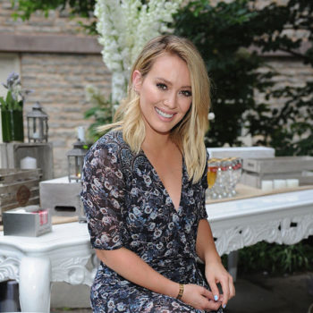 Hilary Duff proves that drastically grown-out roots are hella chic
