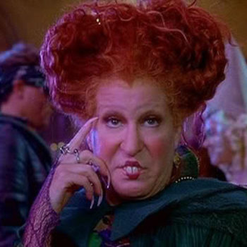 "A little boy did a play-by-play of this ""Hocus Pocus"" scene, and it's so good that even Bette Midler approves"