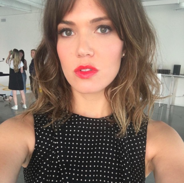 Mandy Moore's casual comment about exercising is so unbelievably relatable
