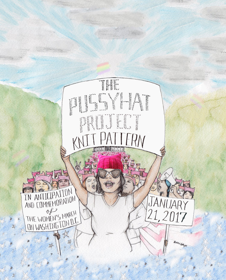 The Pussyhat Project is an empowering way to get involved with the upcoming Women's March