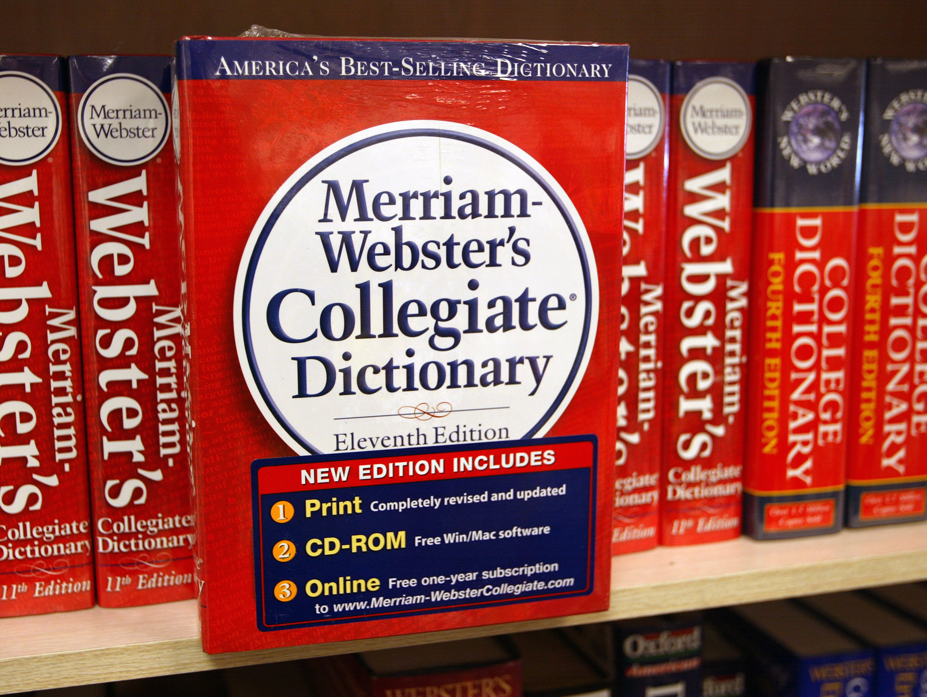 Merriam-Webster just proved it's the perfect LGBTQ+ ally with this hilariously shady tweet