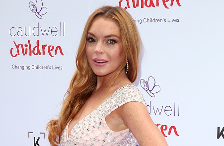 Lindsay Lohan is acting again! See the poster for the spooky movie she's in