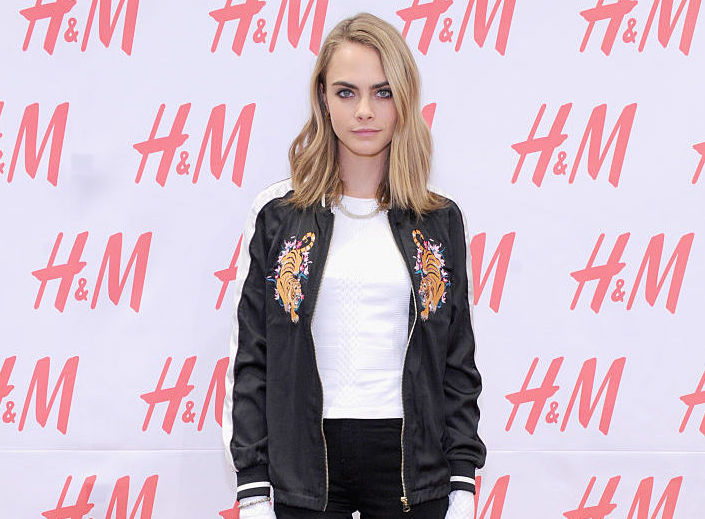 Cara Delevingne's current favorite sneakers have the most unique laces