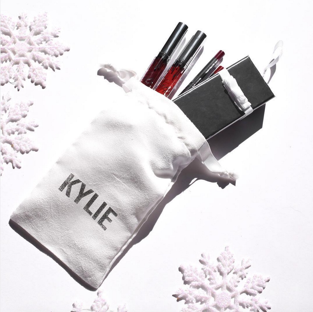 Kylie Cosmetics' second holiday surprise involves a cute FREE gift bag