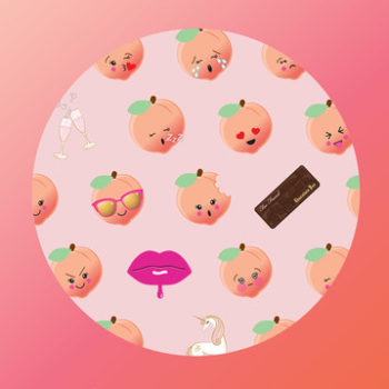 OMG: Too Faced just released the cutest emojis ahead of their Sweet Peach collection