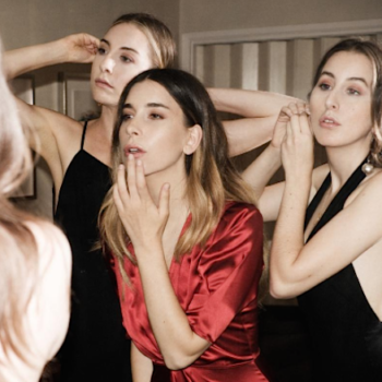 Reformation collaborated with the band Haim on a '70s inspired NYE collection and we are swooning