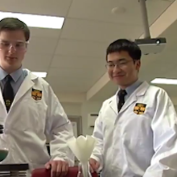 These genius high school students recreated the $750 HIV drug for only $2, and we can't stop clapping