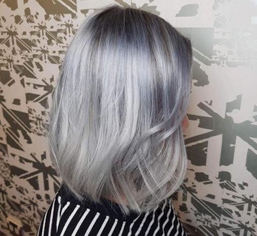 What it's like to start going gray at 16-years-old