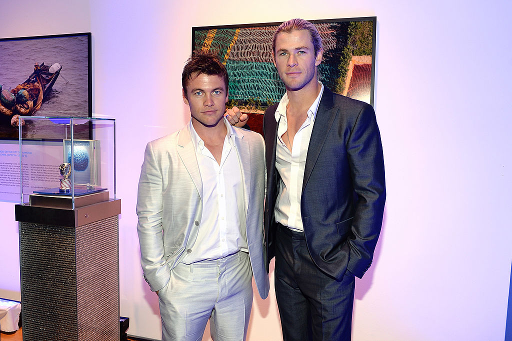 Chris Hemsworth hired his brother Luke to be his trainer for the sweetest reason