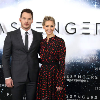 Chris Pratt still won't let Jennifer Lawrence be in any of his photos and it's getting out of control