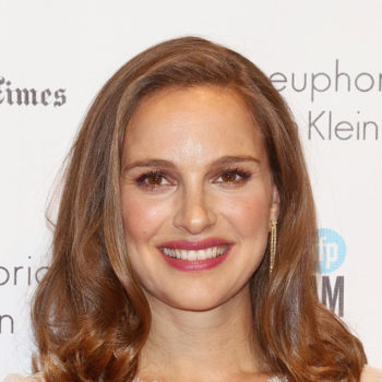 Natalie Portman's adorable dress has butterflies and unicorns and everything we need