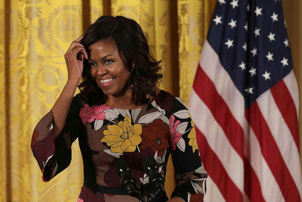 Michelle Obama just got a new shorter haircut and she looks so good