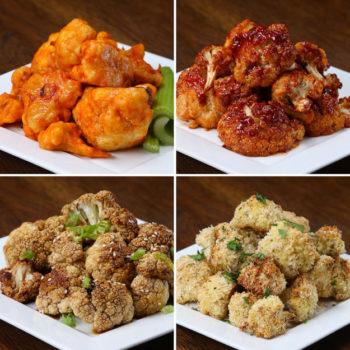 4 simple cauliflower bites recipes that will seriously make your mouth water