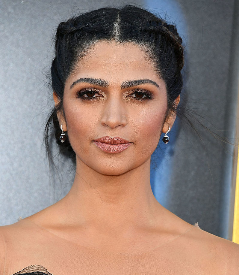 Camila Alves' dress is like a bubbly polka-dot dream