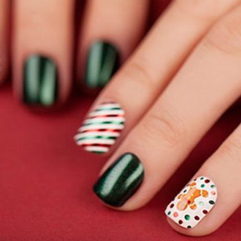 11 of Instagram's best holiday nails to keep your look perfectly festive all season long