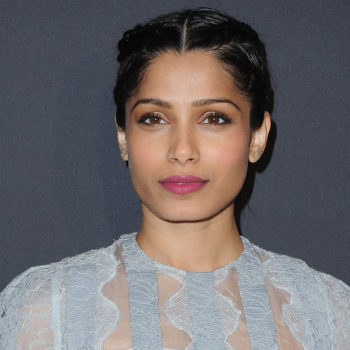 Freida Pinto attended a fashion conference and of course all her outfits were AMAZING