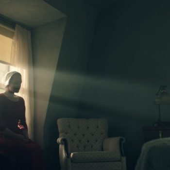 """The first images from the new """"Handmaid's Tale"""" show are out and they're real unsettling"""