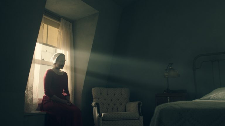 "The first images from the new ""Handmaid's Tale"" show are out and they're real unsettling"