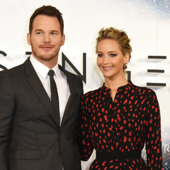 Chris Pratt FINALLY gives us a pic of Jennifer Lawrence on his Instagram — but it's not what you would think