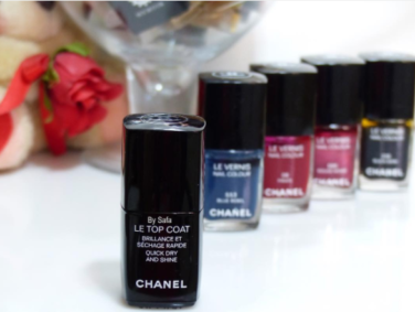 This new black topcoat from Chanel transforms your manis