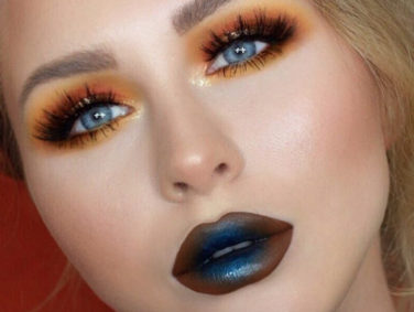 This Instagram beauty guru's ombre makeup is celestial AF