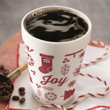 Dunkin' Donuts wants to add some ~joy~ to your holiday season with FREE coffee