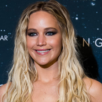 Jennifer Lawrence nearly killed a member of a film crew by scratching her bottom on a rock