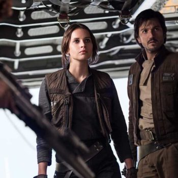 "Why Felicity Jones didn't want her character running around in a tank top in ""Rogue One: A Star Wars Story"""