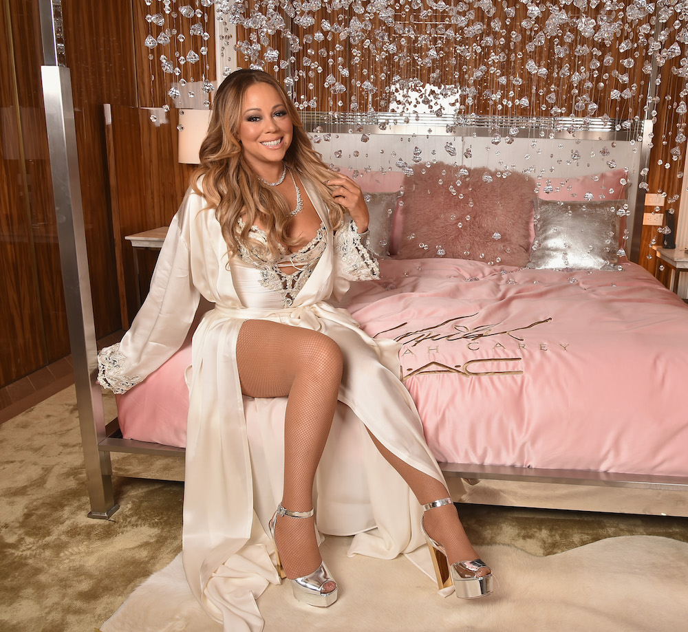 Beauty bloggers had the most ultra-glam sleepover with Mariah Carey for her MAC collection launch