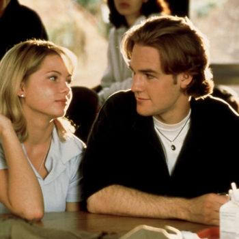 "Jen and Dawson (aka James Van Der Beek and Michelle Williams) from ""Dawson's Creek"" just reunited"