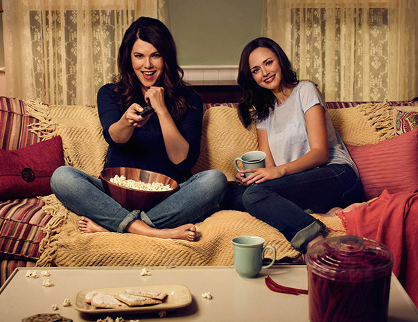 "Lauren Graham says she may NEVER watch the ""Gilmore Girls"" revival"