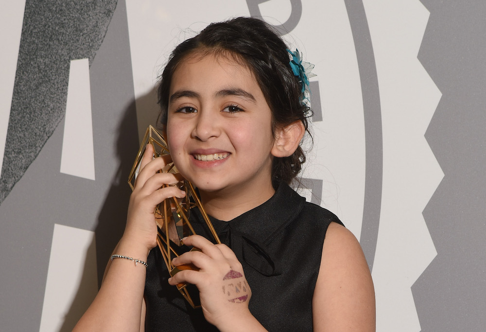 This adorable 9-year-old girl just won a major award, and we applaud her