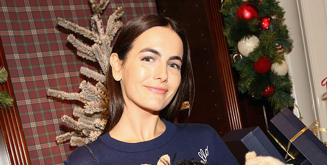 YAS! Camilla Belle makes the ugly Christmas sweater look incredibly chic