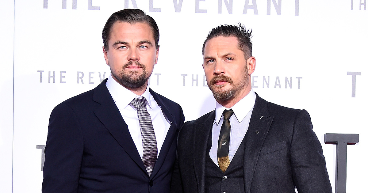 Tom Hardy lost a bet with Leonardo DiCaprio and now he has to get a hilarious tattoo