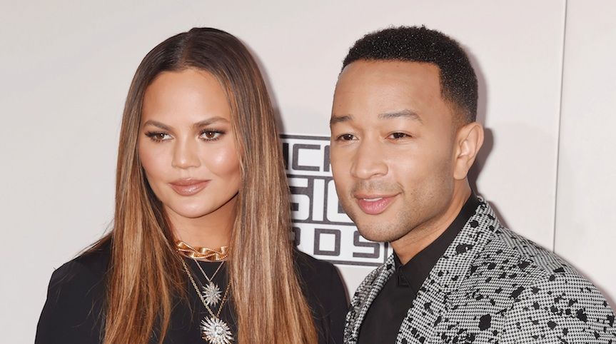 So Chrissy Teigen and John Legend somehow even make walking through an airport look cool AF