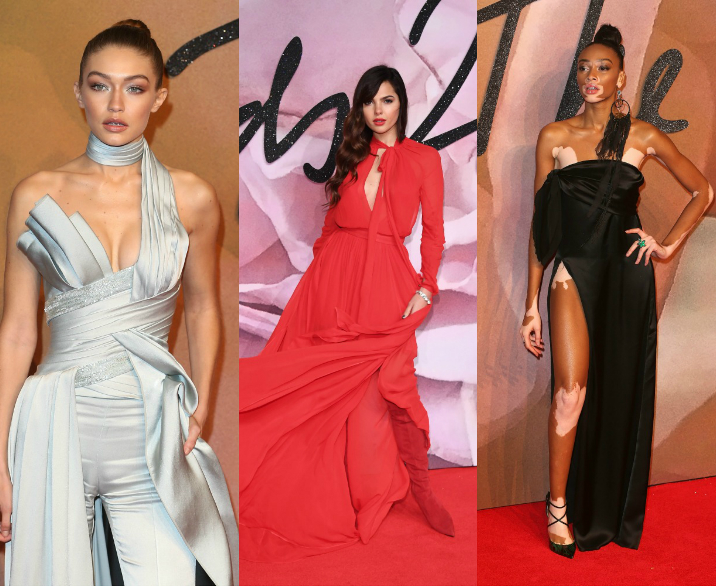 Here are 12 of the most stunning red carpet looks from the British Fashion Awards