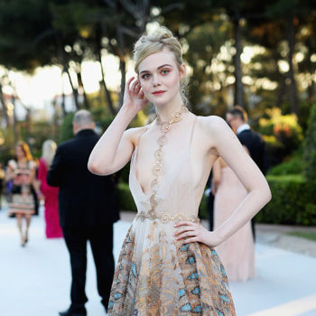 This photo of little Elle Fanning and her Barbie doll is super creepy for one reason