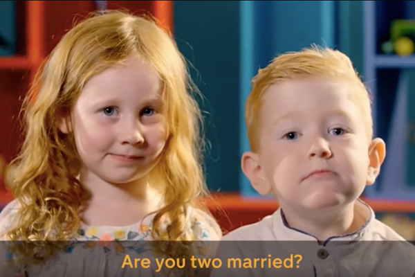 These four year olds describe what they think marriage is and their version sounds lovely