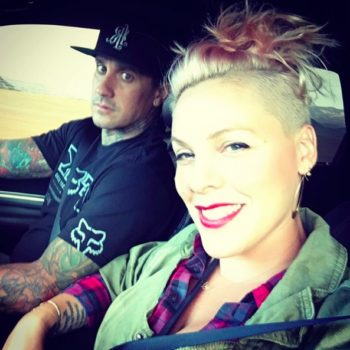 Pink's choice to drink coffee while she's pregnant is entirely her own