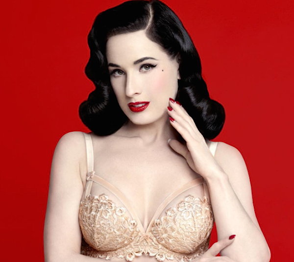 If you want to start dressing like a vintage vixen, take advantage of this sale on Dita Von Teese's gorgeous hosiery line
