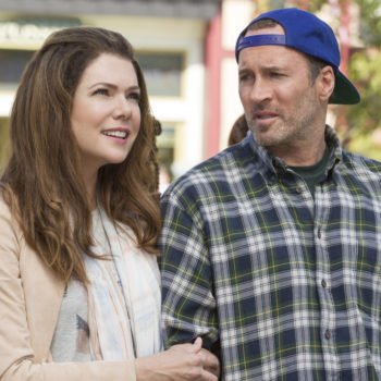 "Turns out the ""Gilmore Girls"" wedding was actually supposed to be waaaay different"