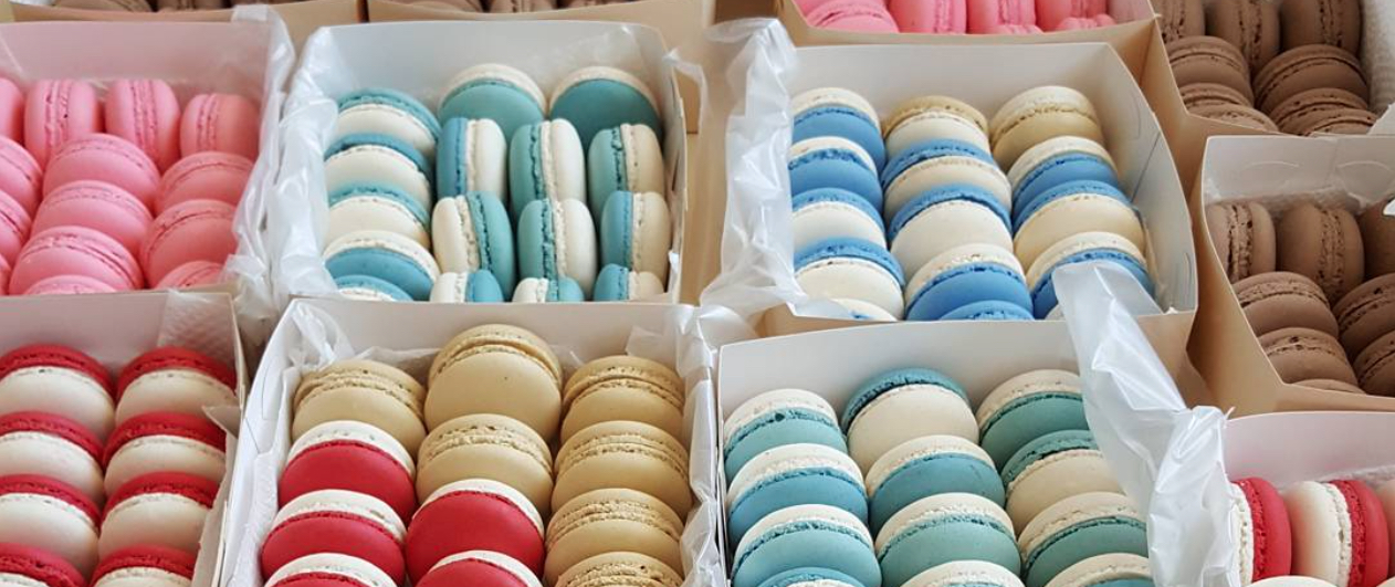 This Instagram account is filled with macaron recipes, and it's so bright and colorful (and yummy!)