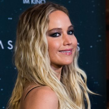 Jennifer Lawrence stepped out looking like a wintery go-go dancer, and we're all about it