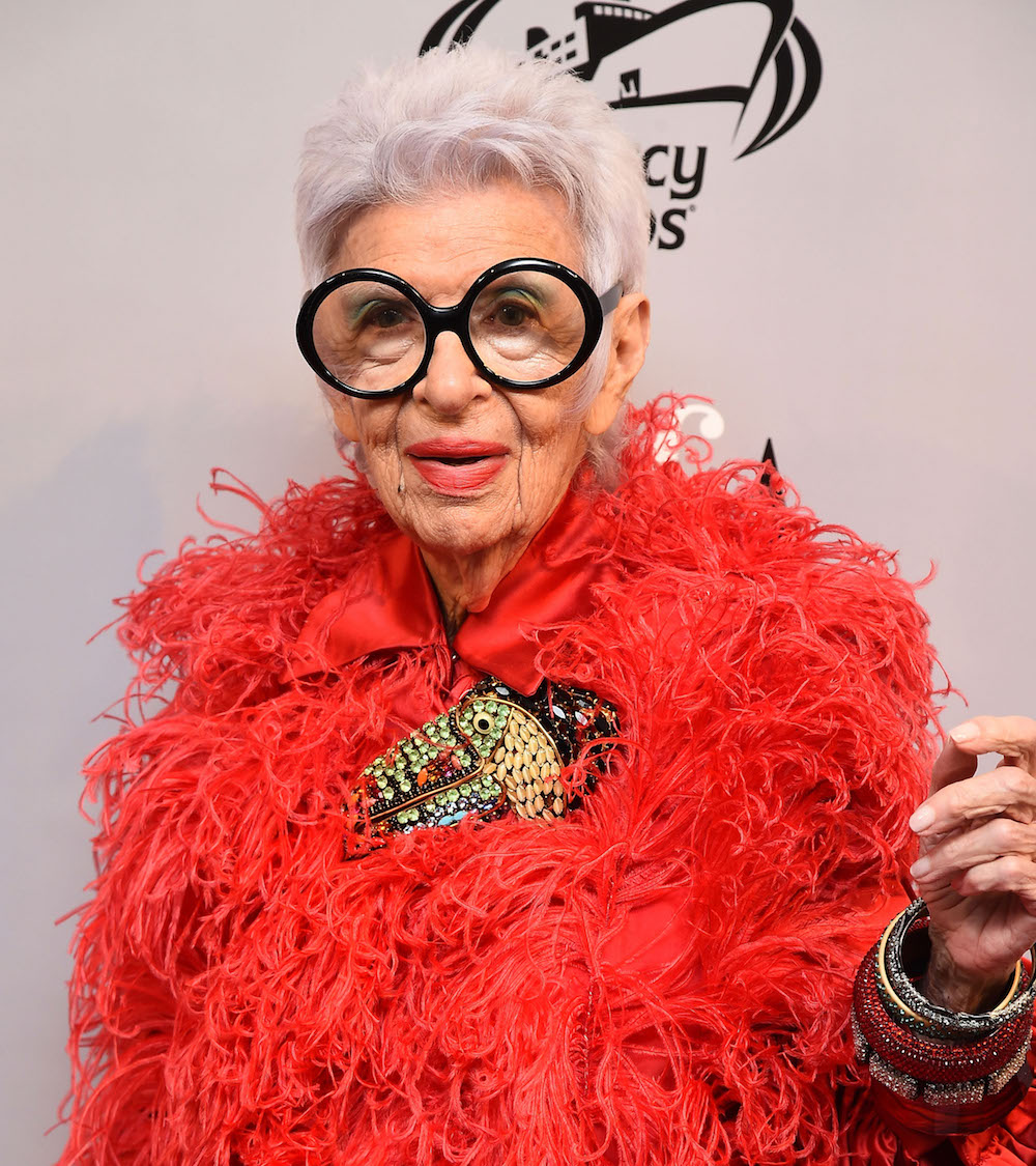 Iris Apfel sold jewelry from her personal collection and it promptly sold out, proving you can be a style icon no matter what age