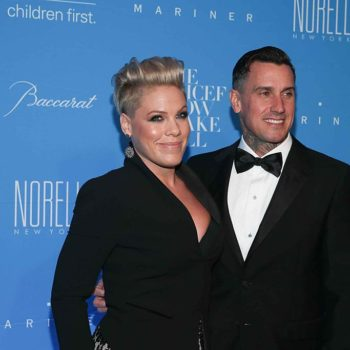 Pink just had the most epic response to all those rumors about her husband breaking up with her