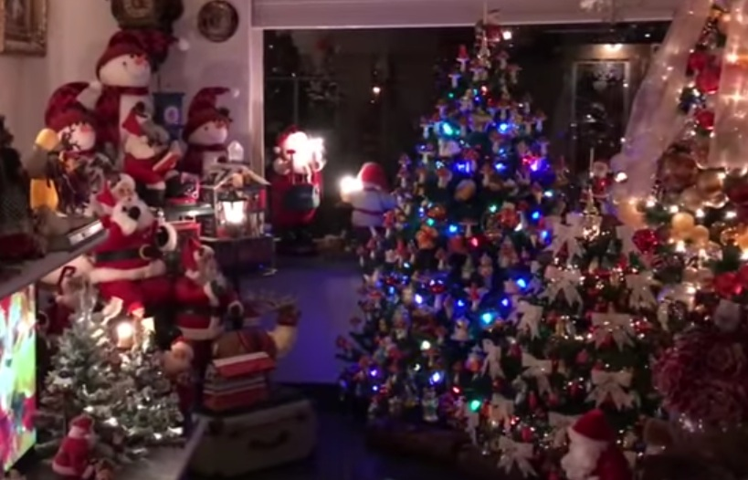 This man created the most elaborate Christmas display we've ever seen, and now we feel inadequate