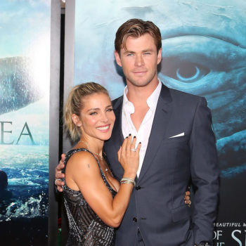 Chris Hemsworth's sweet pic while filming with his wife remind us they're total #relathionshipgoals