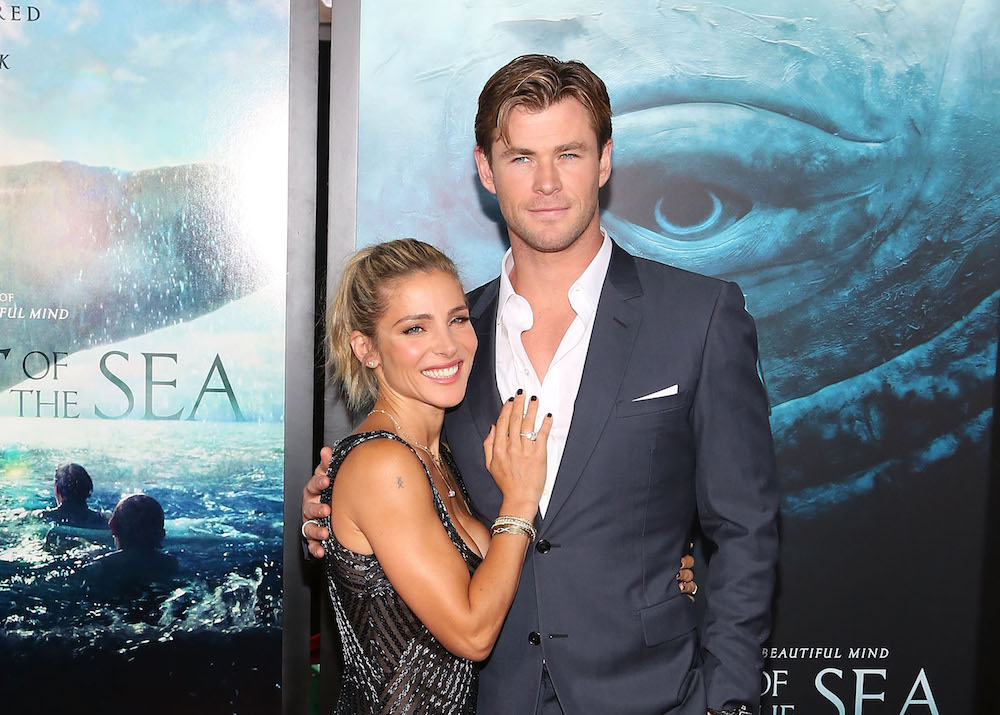 Chris Hemsworth's sweet pic while filming with his wife remind us they're total #relationshipgoals