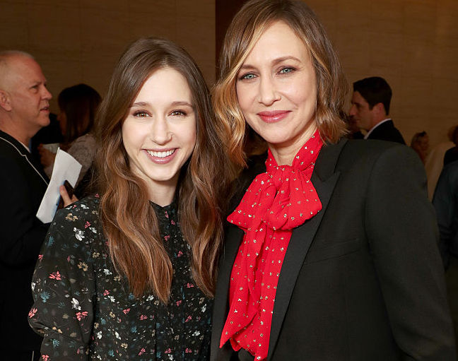 Taissa and Vera Farmiga are sister goals at the Hollywood Reporter Women in Entertainment Breakfast
